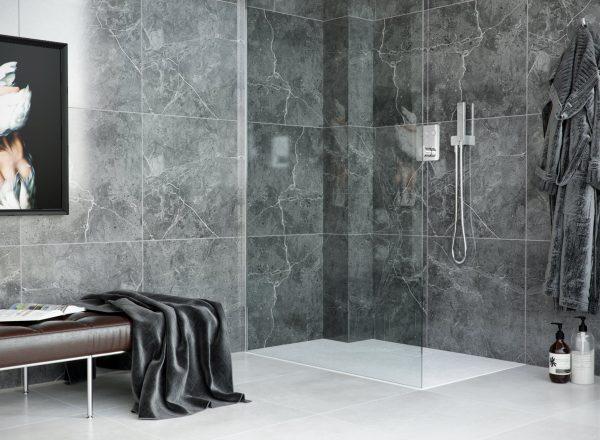 Zdjęcie Brodzik kwadratowy Excellent Lavano Slim 100×100 cm Biały BREX.1102.100.100.WHN