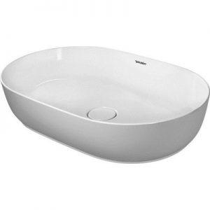 Umywalka nablatowa Duravit Luv 60x40 cm owalna biała 0379600000