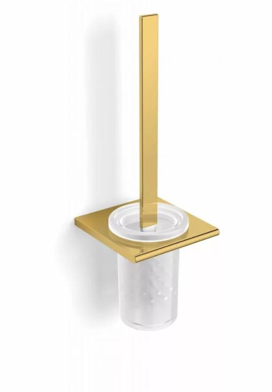 Szczotka WC wisząca Stella Milano złoty 12.430-G