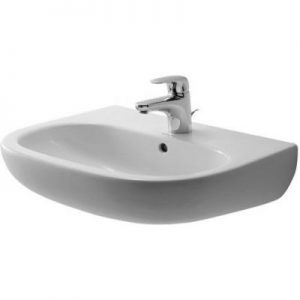 Umywalka ścienna Duravit D-Code 55x43 cm biały 23105500002
