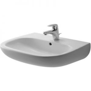 Umywalka ścienna Duravit D-Code 60x46 cm biały 23106000002 @