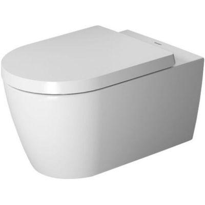 Miska WC Duravit ME by Starck Rimless HygieneGlaze wisząca 57x37 biała 2529092000 + Deska WC Duravit ME by Starck 0020090000