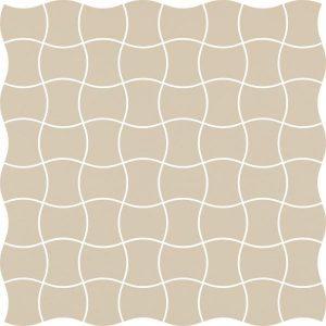 Mozaika prasowana Paradyż Modernizm Bianco K.3,6x4,4 30,86x30,86 cm