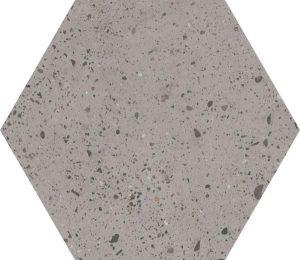 Płytka podłogowa Paradyż Industrialdust Light Grys Mat 19,8x17,1 cm