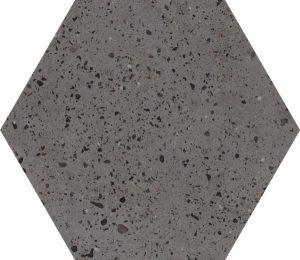 Płytka podłogowa Paradyż Industrialdust Grafit Mat 19,8x17,1 cm