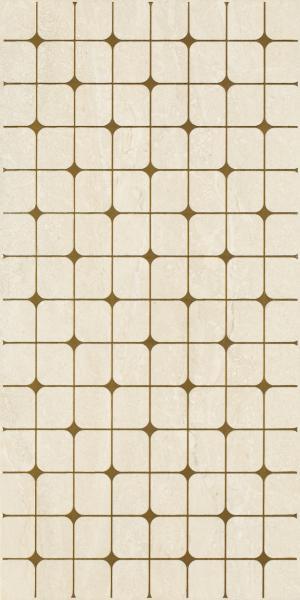 Mozaika prasowana Paradyż Anello Beige Inserto B 30x60 cm