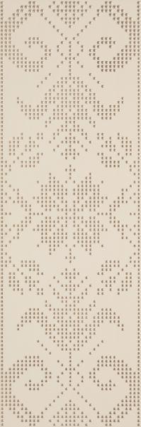 Mozaika prasowana Paradyż Caya Beige Inserto A 25x75 cm