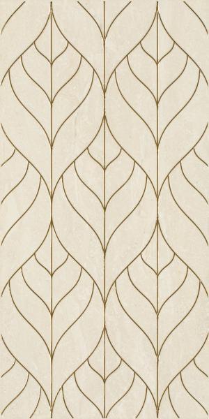 Mozaika prasowana Paradyż Anello Beige Inserto A 30x60 cm