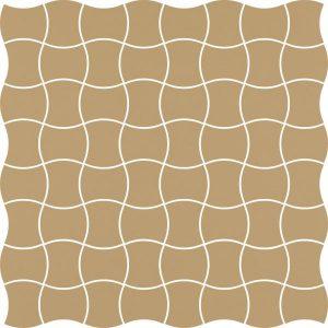 Mozaika prasowana Paradyż Modernizm Ochra K.3,6x4,4 30,86x30,86 cm