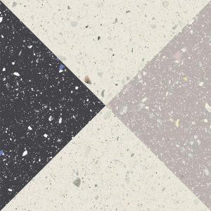 Płytka podłogowa Paradyż Moondust Colour Mix Dekor Mat 19,8x19,8 cm