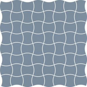 Mozaika prasowana Paradyż Modernizm Blue K.3,6x4,4 30,86x30,86 cm
