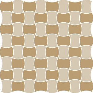 Mozaika prasowana Paradyż Modernizm Bianco K.3,6x4,4 Mix C 30,86x30,86 cm