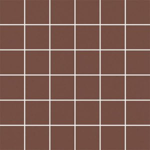 Mozaika cięta Paradyż Modernizm Brown K.4,8x4,8 29,8x29,8 cm