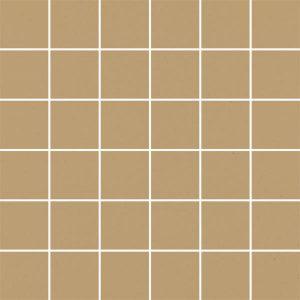 Mozaika cięta Paradyż Modernizm Ochra K.4,8x4,8 29,8x29,8 cm