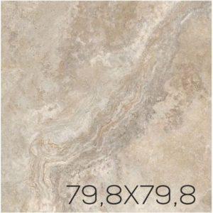 Płytka podłogowa Tubądzin Calcare Pol 79,8x79,8 cm (p)