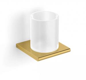 Uchwyt ze szklanką Stella Milano złoty 12.411-G