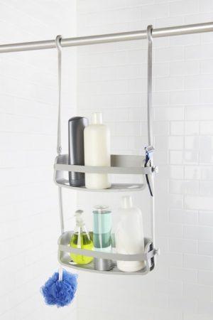 Półka pod prysznic  szara Umbra Flex 023460-918