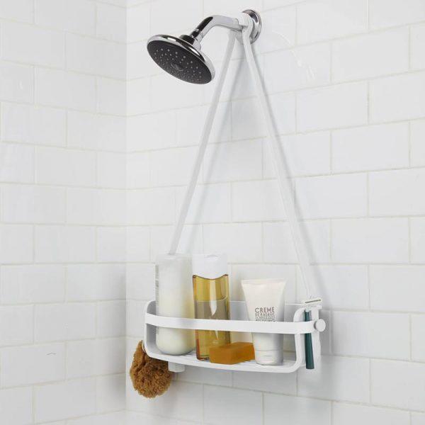 Zdjęcie Półka prysznicowa biała Umbra Flex 023475-660