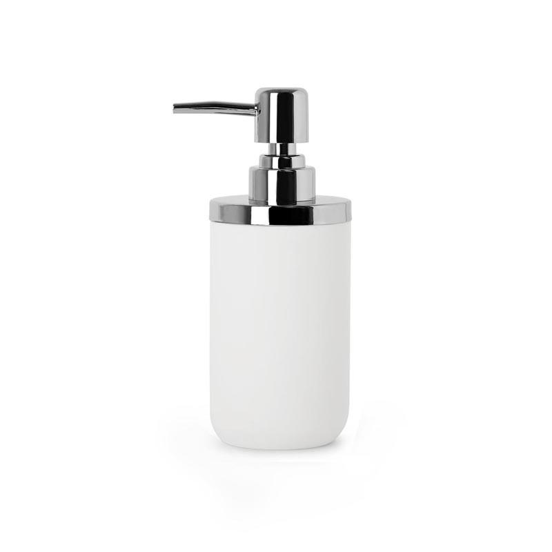 Dozownik do mydła biały/chrom Umbra Junip 1008027-153