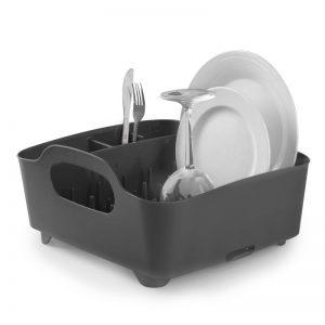 Suszarka na naczynia czarny Umbra Tub 330590-582