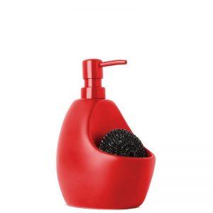Dozownik na płyn do naczyń mydło red Umbra Joey 330750-505