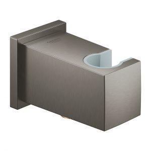 GROHE Euphoria Cube - kolanko przyłączeniowe ścienne brushed hard graphite 26370AL0