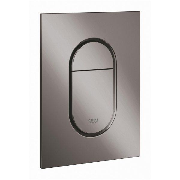 Zdjęcie GROHE Arena Cosmopolitan S – przycisk uruchamiający do spłuczki podtynkowe hard graphite 37624A00