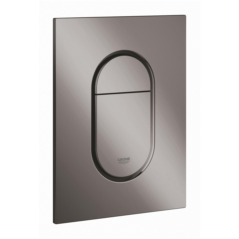 GROHE Arena Cosmopolitan S – przycisk uruchamiający do spłuczki podtynkowe hard graphite 37624A00