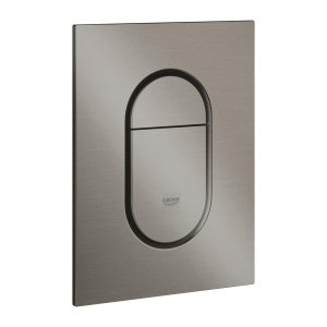 GROHE Arena Cosmopolitan S – przycisk uruchamiający do spłuczki podtynkowe brushed  hard graphite 37624AL0