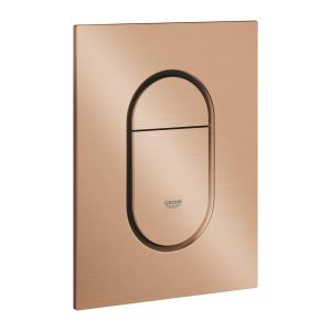 GROHE Arena Cosmopolitan S – przycisk uruchamiający do spłuczki podtynkowe brushed warm sunset 37624DL0