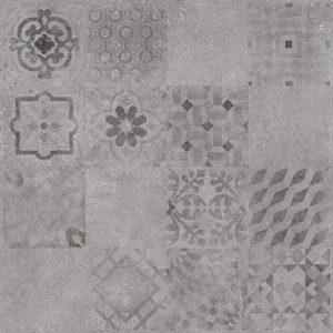 Płytka podłogowa Raco Betonico Szara Dekor 59,8 x 59,8 cm DAK63796
