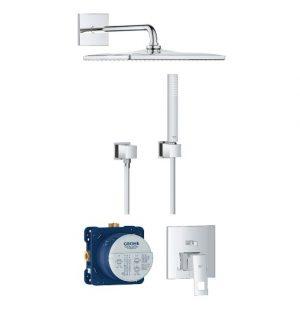 Zestaw prysznicowy podtynkowy GROHE EuroCube 25238000 (24062000 + 35600000 + 26564000 + 27702000 + 27704000 )
