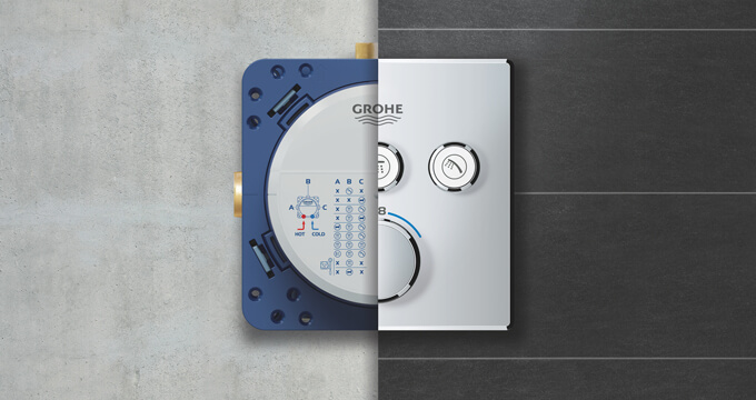 System podtynkowy Grohe