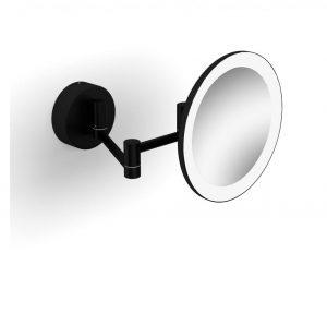 Lusterko kosmetyczne Stella czarny mat 22.00230-B