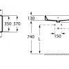 Zdjęcie Umywalka nablatowa prostokątna Roca Gap Square 60×37 cm biały A3270Y2000