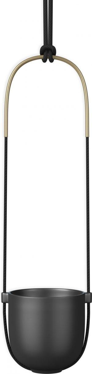 Doniczka wisząca Umbra Bolo czarna 1009571-040