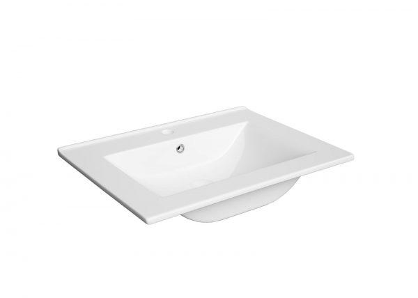 Zdjęcie Zestaw meblowy Defra Granada 60 x39,8×47,5 cm + umywalka Defra Plan 61×47 cm biały 167-D-06009+1722
