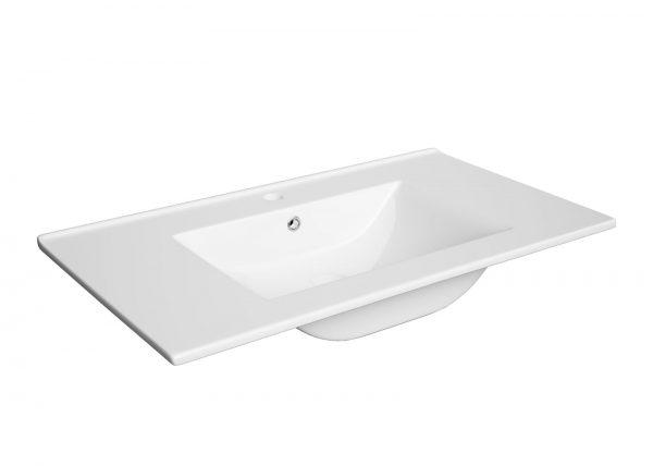 Zdjęcie Zestaw meblowy Defra Granada + umywalka Defra Plan 80 cm biały 167-D-08006+1724