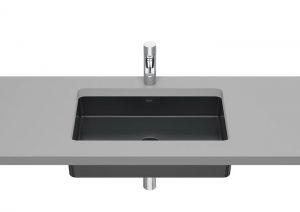 Umywalka podblatowa Roca Inspira Square 60,5×39 cm FINECERAMIC® onyks A327535640