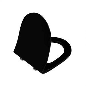 Deska wolnoopadająca WC Vitra Sento czarny mat 120-083R009