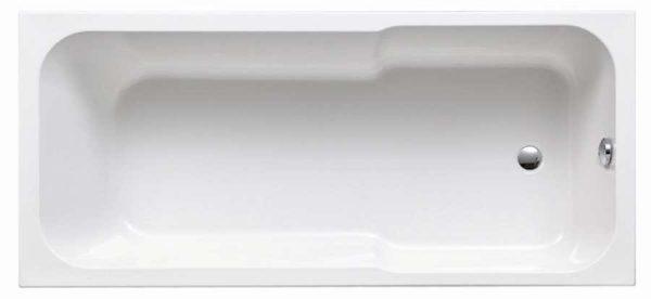 Zdjęcie Wanna akrylowa prostokątna Emporia Vesta 170×75 cm biały WP3941200102