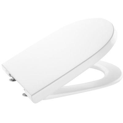 Deska WC wolnoopadająca Roca Gap Round Supralit  biały A801D22001