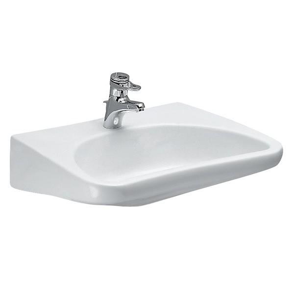 Umywalka podwieszana Roca Dostępna Łazienka 66x55 cm biały WM8810ACZ000001