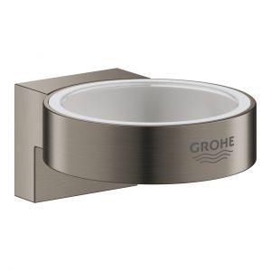 Uchwyt do dozownika do mydła Grohe Selection brushed hard graphite 41027AL0
