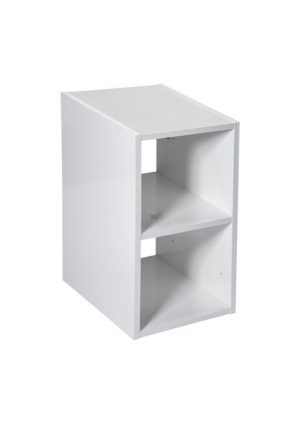 Kontener otwarty 30 cm Roca Victoria Basic biały połysk A857509806
