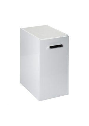 Kontener z drzwiami 30 cm Roca Victoria Basic biały połysk A857510806