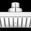 Zdjęcie Deszczownia 100×100 mm Laveo Kvadrato Mini chrom NLQ_0DAM