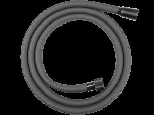 Wąż natryskowy silikonowy 1500 mm Laveo Pretto grafit CRP_14PD