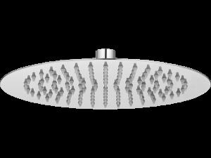 Deszczownia 250 mm Laveo Rondo Slim chrom NLX_0D1S