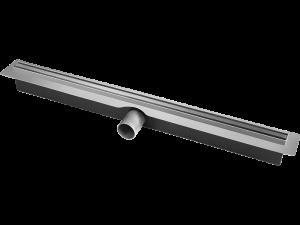 Odpływ liniowy z wąskim rusztem 600 mm Laveo Slim stal nierdzewna 304 COS_260D